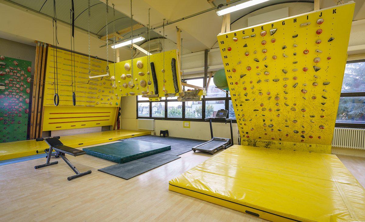 Training area indoor